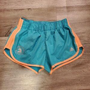NWOT Adidas Boston Marathon Unicorn Shorts